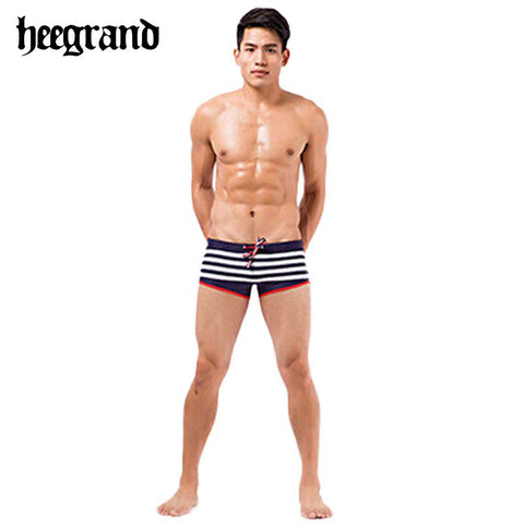 Men Swim Trunks 2015 Summer Style Sports Swimming Wears Sexy Striped Brand Shorts Beachwears Swimming Suit MYP041
