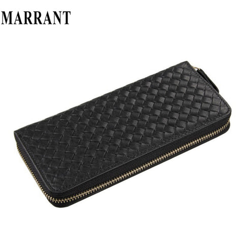 100% genuine leather men wallets J.M.D high-grade leather bags woven design men's wallet vintage wallets men purse 8067