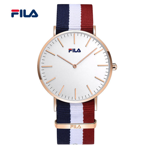 Fila Fashion and Casual Three Color Watch Strap Men and Women's Watch Watches for Lovers 38-778