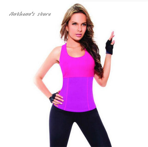 2016 Hot Shapers Body Control Shapers Tank Top Super Stretch Neoprene Slimming Vests Training Corset Vests & Waistcoats Gym Yoga