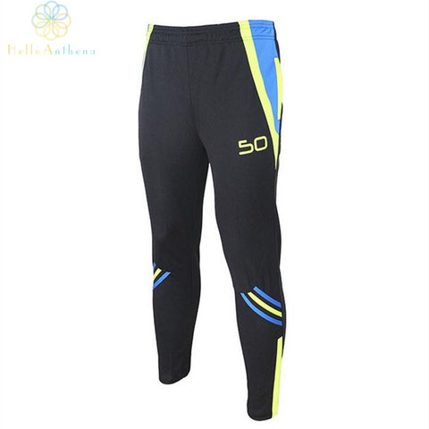 2015 Hot Selling Men Soccer Training Pants one piece sport black trousers men's clothing accessories Gym Running Football