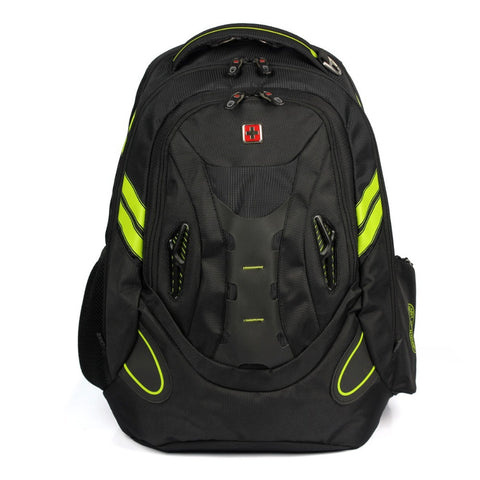 Swisswin 2015 Swiss Men Women Laptop bag 15.6 Backpack Mochila Masculina Man's music Backpacks Travel bags Sports Bag SW6010V