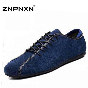 2014 Spring and autumn nubuck leather male casual shoes summer shoes fashion leather shoes men's shoes