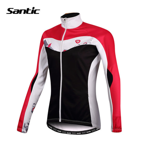 2016 Santic Cycling Thermal Jersey Women Cycling Jersey Winter Cycling Clothing Full Sleeve Bike Bicycle Cycling Jersey LC01041