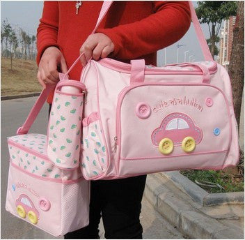 Large Size Hot Sell Carters Dipaer Bag Set for Baby Free Shipping Baby Bag Brand Nappy Bag