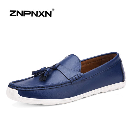2015 men's shoes casual men shoes italian style  driving Shoes Mens slip-on Flats Doug Loafers