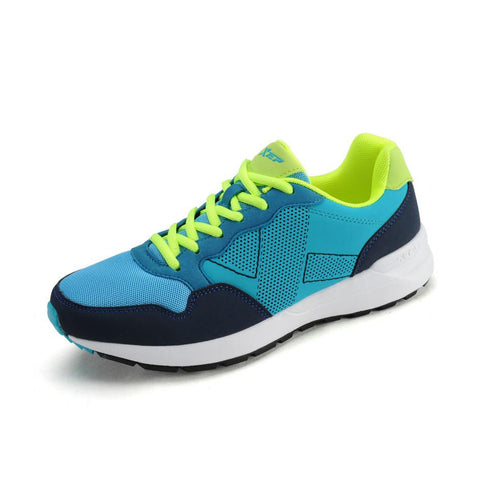 2015 NEW Xtep Men Shoes Sneakers Running Shoes for Men Runner Outdoor Sport Shoes Blue EUR Summer Style Size 40-44 986319119383
