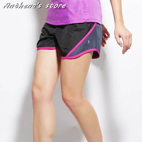 2015 Brand Fashion Summer Sports Women Shorts Leisure Elastic Waist Women Shorts Female Casual Yo-Ga Running Short Feminino