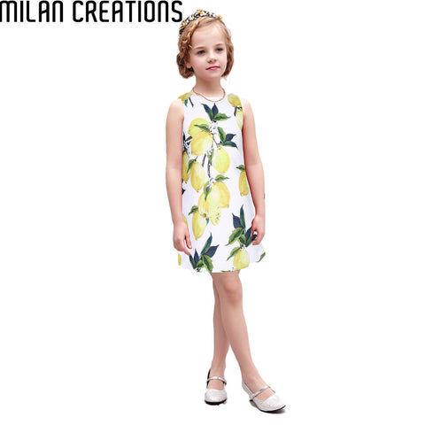 2015 New Vestidos Baby Girls Dress Floral Princess Children Dresses Brand Girl Dress Designer Kids Summer Dress for Girls