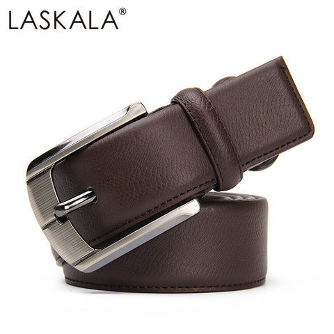 2015 Men's Genuine split leather Belt fashion mens belts luxury cintos femininos Pin Buckle belt for men designer belts