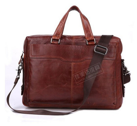 100%  Natural genuine leather men messenger Bags Handbags tote men's briefcase laptop bags shoulder bag men travel bag 2015
