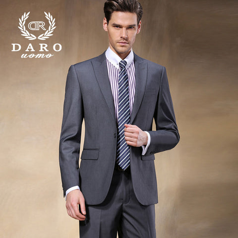 2015 High Quality Fashion Men Suit! New Arrival Men Blazer Business Men's Slim Clothing Suit And Pants Top Selling DR8168-3