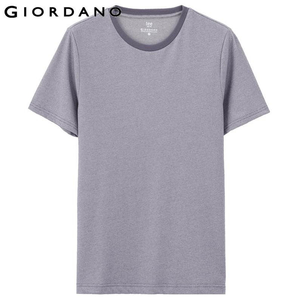 Giordano Men T-shirt Striped Short Sleeves Crewneck T-shirts Vetement Homme Summer Clothes Beach Tee Shirts Poleras Hombre