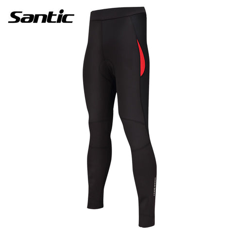 2016 Santic Women Cycling Full-Pants Purpel Lines Bicycle Sports Jersey Pants Black Quick Dry Tights Cycling Pants L5C05062H