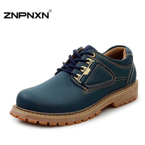 Rosan 2014 new fashion Winter men's tooling shoes,high quality martin casual ankle boots Men  Work Shoes