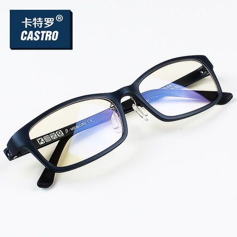 2015 New Brand   Reading Glasses Men Woman Computer UV Glasses Fatigue Radiation Wayfarer Myopia Frame Black White Bule 1310