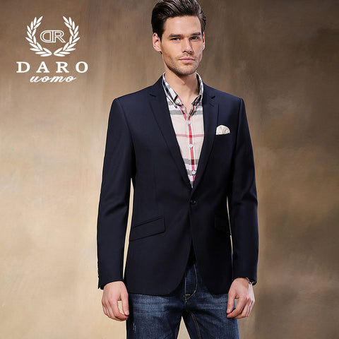 2015 Brand New Men's Casual Business Suits High quality Plus Size Blue Formal Suit Men Terno Masculino DR8158-2