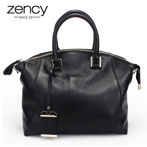 2016 Quality A+ Fashion Causal Genuine Leather Handbag Women Tote Messenger Shoulder Crossbody Bags Famous Designer Brand Ladies