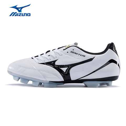 MIZUNO 2016 Men's Sports Leather Beathable Cushioning Soccer Shoes IGNITUS 4 MD Light Sport Shoes Sneakers P1GA163254 YXZ005