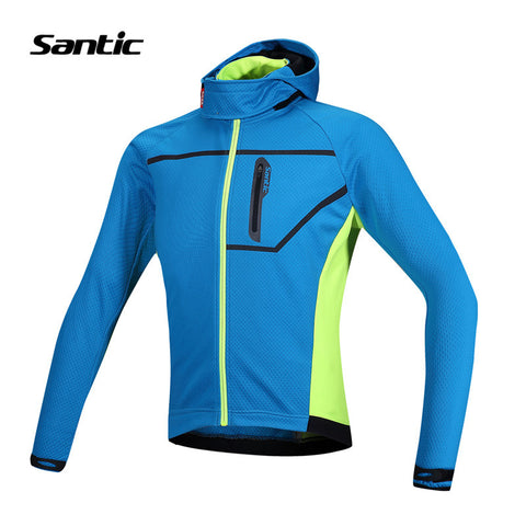 2015 Santic Men Cycling Jacket Bike Winter Fleece Cycling Jackets Thermal Cycling Clothes Cycling Windproof Jackets Male MC01054