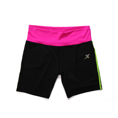 XTEP 2016 Running Compression Shorts Women Yoga Sport Shorts Quick Drying Ladies Running Athletic Trainning Shorts 985128469066