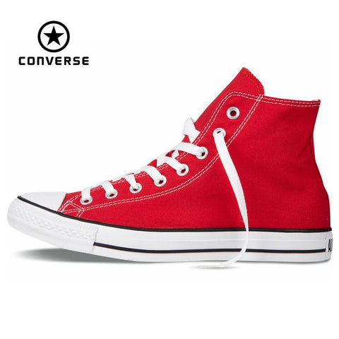 Original Converse all star shoes men and women's sneakers canvas shoes men women high classic Skateboarding Shoes free shipping