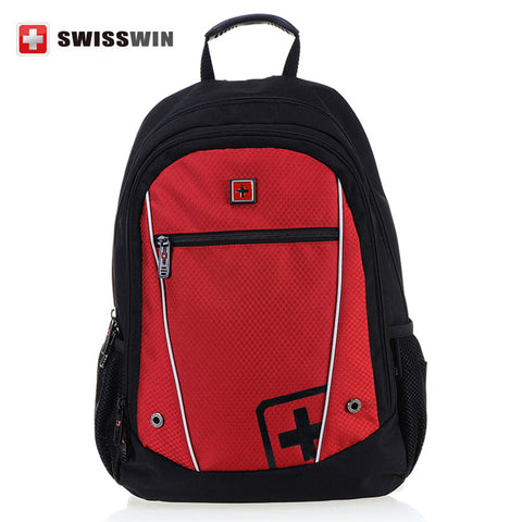 Swisswin School BagsYouth Trend Schoolbag Ladies Female Man Shoulder Bags Backpack Bolsas Mochila Bag Teenager Book Bag Rucksack