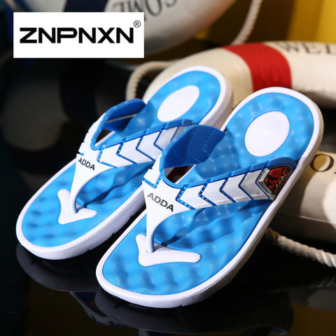NPNXN Men Slippers Home Summer Indoor Slippers For Men Anti-Slip Home Shoes For Men Size 40-44