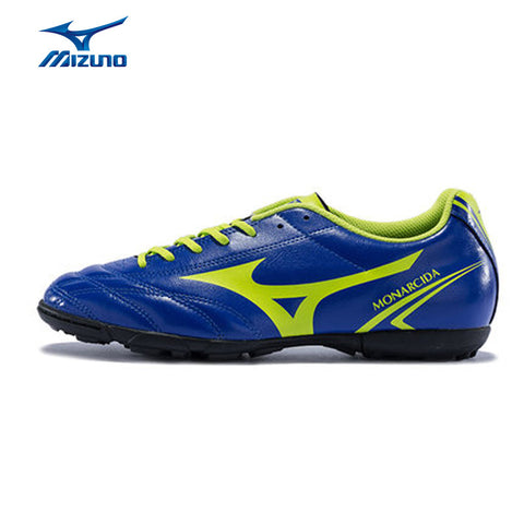 MIZUNO 2016 Men's Sports Leather Beathable Cushioning Soccer Shoes MONARCIDA AS Light Sport Shoes Sneakers P1GD162437 YXZ007