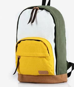 2014 school bags for teenagers Korean version Fashion college Canvas Backpack travel Shoulder Bag drop women backpacks shipping