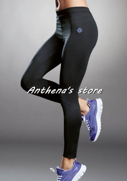 Women tights sports pants running slacks yoga fitness outdoors training dress 2015 new winter spring lycra black free shipping