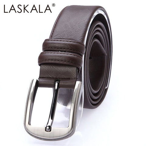 2015 Men's Genuine split leather Belt mens belts luxury cintos femininos Pin Buckle belt for men designer belts