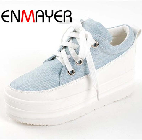 ENMAYER new fashion sneakers for   women's sneakers leisure shoes/ women outdoor running shoes