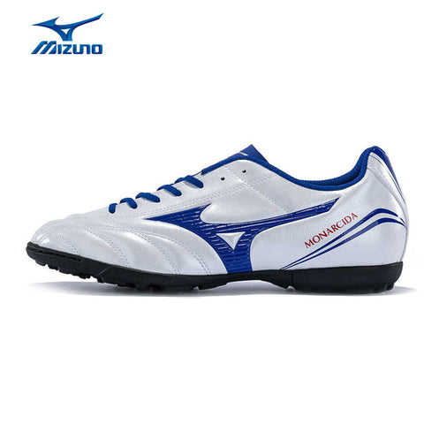 MIZUNO 2016 Men's Sports Leather Beathable Cushioning Soccer Shoes MONARCIDA FS AS Light Sport Shoes Sneakers P1GD162327 YXZ013
