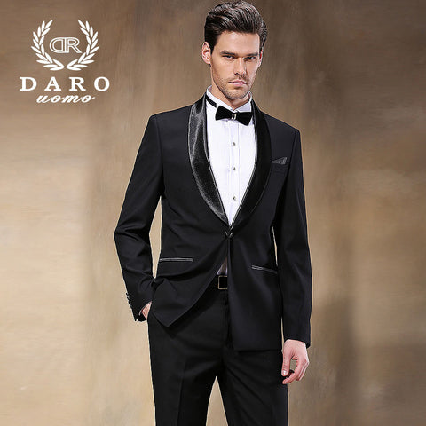 2014 New Coming Black Formal Classic Men Suits Hot Sale Fashion Blazers for the Gentlemen Casual Suit Free Shipping  DR8855-1