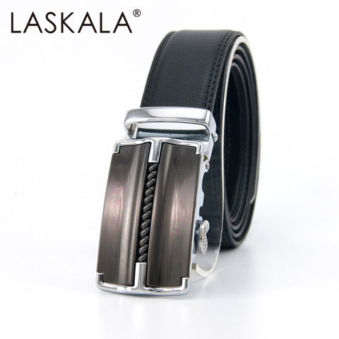 2016 male mens gunblack business belts luxury brand high quality strap Automatic buckle Brand mens strap belt