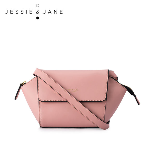 JessieJane Designer Brand Connie Series Women Crossbody bags Genuine Leather Shoulder bags Jane Style 1080