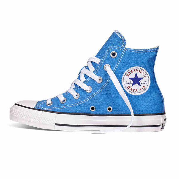 Original Converse all star shoes Sky blue high women's sneakers canvas shoes for women High Skateboarding Shoes free shipping
