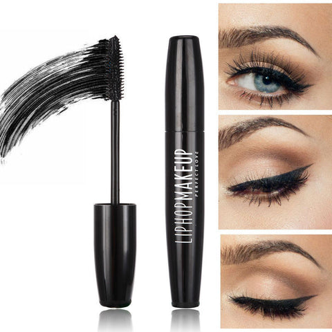 1Pcs Professional Black Mascara Eyelashes Thick Lengthening Makeup Eyelashes Mascara Waterproof by Liphop