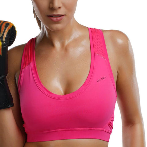 Adult Smooth Cool Mesh Wireless Basic Sports Bra Top Black White Pink XS S M L XL XXL