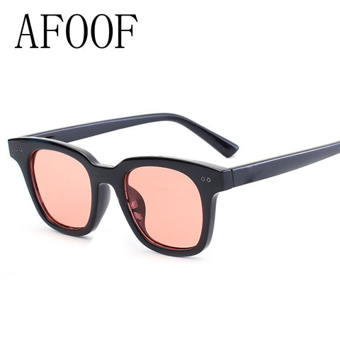 AFOOF 2016 Fashion Sunglasses Brand Design Small Square Frame Women Sun glasses UV400 Vintage Men Sunglass Oculos De Sol