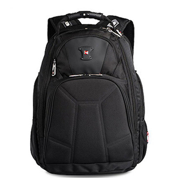 "Swisswin 2015 brand men 1680D nylon 17"" laptop backpack swiss business travel notebook backpacks boys shoulder bags"