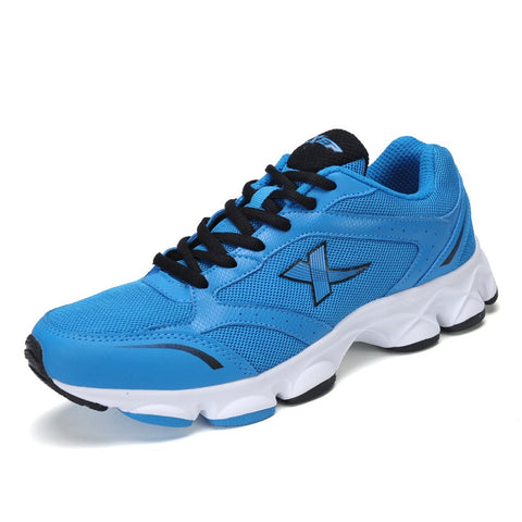 2015 New Free Shipping Genuine Xtep Men's Running Outdoor Sport Shoes for Summer Trainers Fashion Breathable Athletic Sneaker