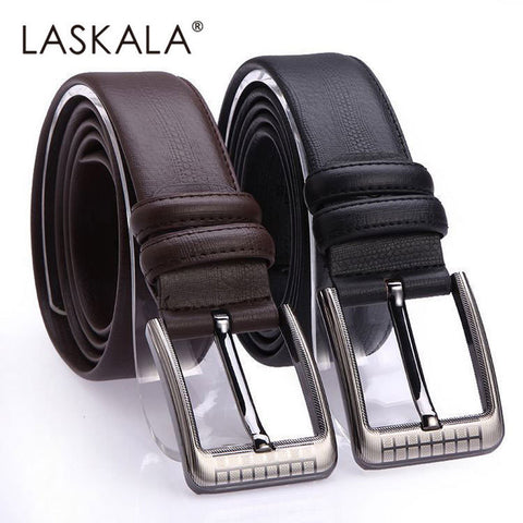2015 Men's Leather mens belts luxury cintos femininos Pin Buckle belt for men designer belts cowskin waist starp for male 09
