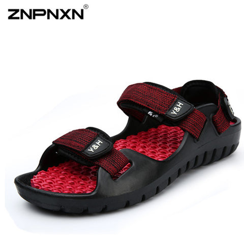 summer Sandals Men 2015 Fashion Designers Sandalias hombre Beach Shoes Men's Sandals Toe Cap Open Sports Sandals for Men Sandal