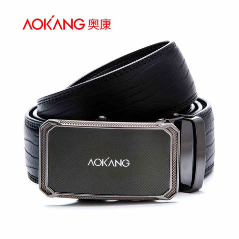 2015 New Brand Designer Belts Men High Quality  Male Genuine Leather Automatic Belt Free Shipping Wholesale