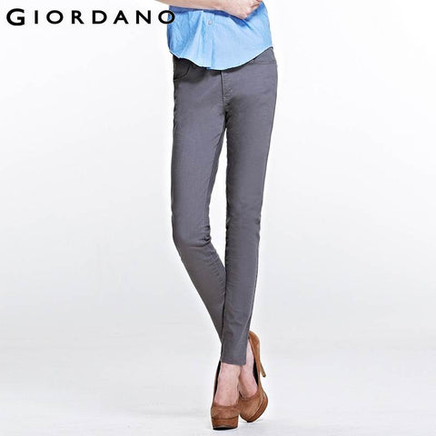 Giordano Women Brand Skinny Pants Cotton Stretchy Pencil Trousers Female  Quality Pantalones Mujer Casual Pants for Women