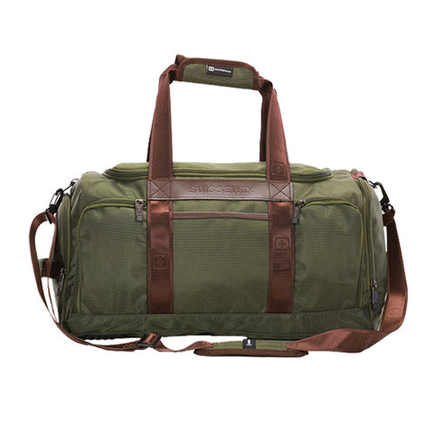 Suissewin Vintage military men sport bag 1680D Nylon travel bags Luggage bags Duffel bags hiking travel tote large weekend Bag