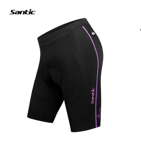 Summer Santic Cycling Shorts Gel Black 2016 Tight Women Bike Bicycle Sports Jerseys MTB Shorts Cycling ciclismo Spain LC05033