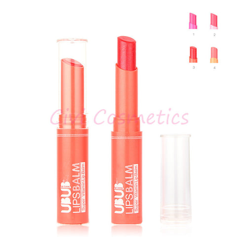 2014 Super Vitamin Moisturizing Lips Organic Natural Lip Balm Stikcer Makeup
